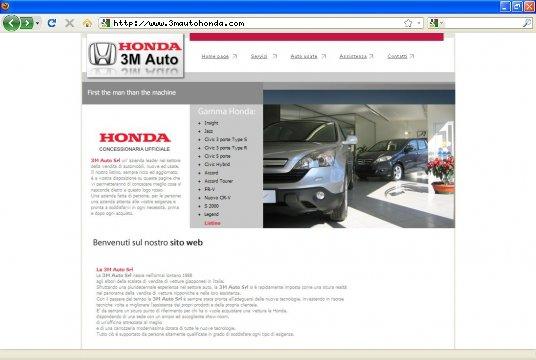Realizzazione siti web a Firenze: sito 3m auto