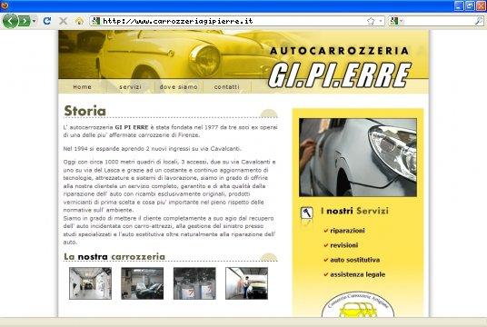 Realizzazione siti web a Firenze: sito GI.PI.ERRE