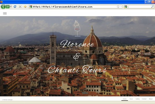 Realizzazione siti web a Firenze: sito Florence & Chianti Tours