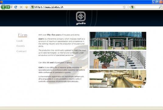 Realizzazione siti web a Firenze: sito Giab's