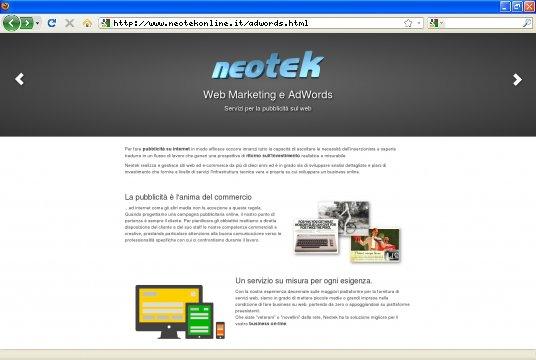 Realizzazione siti web a Firenze: sito Minisito AdWords