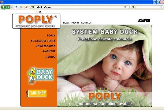 Realizzazione siti web a Firenze: sito Poply
