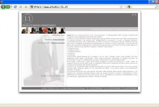 Realizzazione siti web a Firenze: sito Studio 11